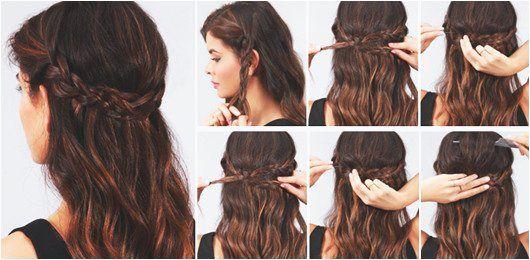 Einige Schnelle Einfache Frisuren Fur Langes Haar Frisuren Mittellange Haare Frisuren Einfach Frisur Hochgesteckt