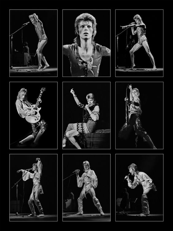 This stunning series of photographs highlights the many sides of the late and great, David Bowie. Captured by three iconic British photographers, the never before seen images will be sold to raise funds...: