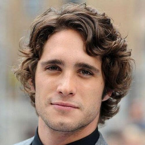 Wavy Hairstyles For Men 50 Waves Ways To Wear Yours Cabelo