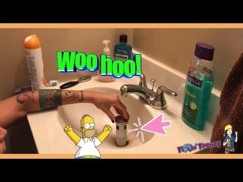 Remove A Stuck Sink Stopper Not A Full Repair Just Remove Youtube With Images How To Remove Repair Sink