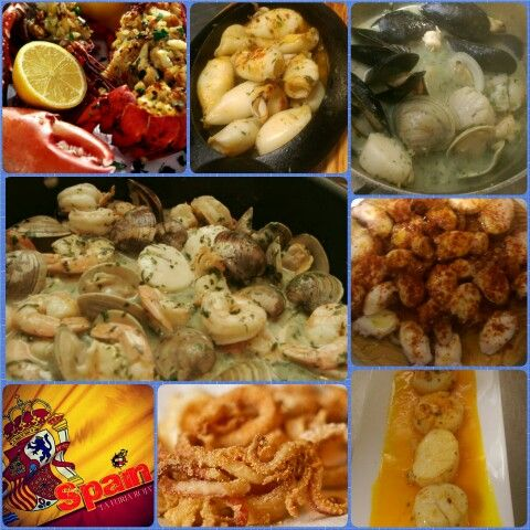 #sangria71 #seafoodsaturday #marisco #willistonpark #longisland #foodie #españa #olé