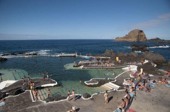 Piscinas de Porto Moniz-Madeira