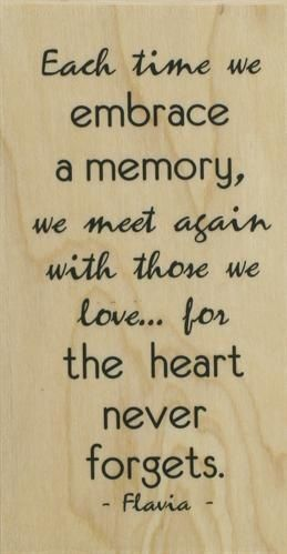The heart never forgets.....memories, pages in time.....a gift.