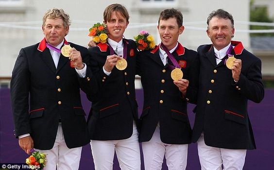 Nick Skelton, Ben Maher, Scott Brash and Peter Charles - team showjumping (17)