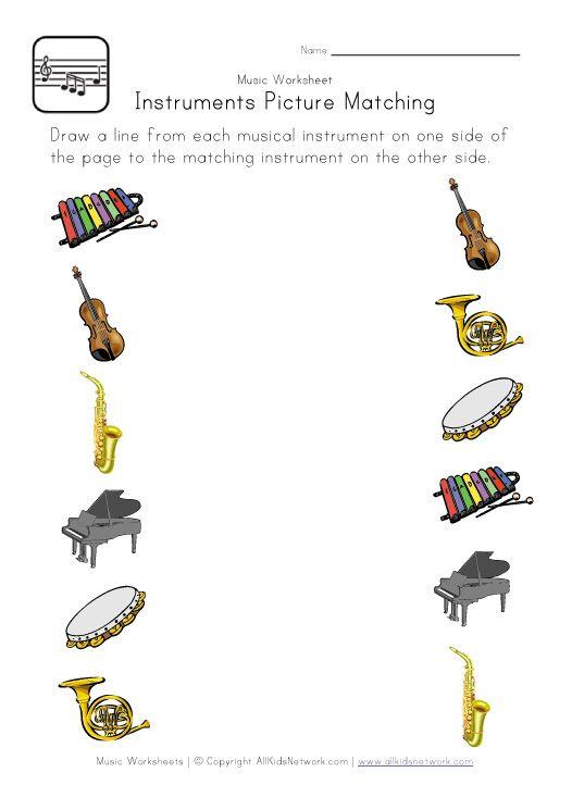Printable Music Worksheets For Kids Free Music Worksheets Preschool Music Music Worksheets Free kindergarten music worksheets