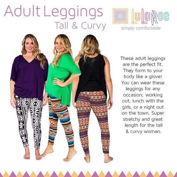 Leggings In Tall Sizes