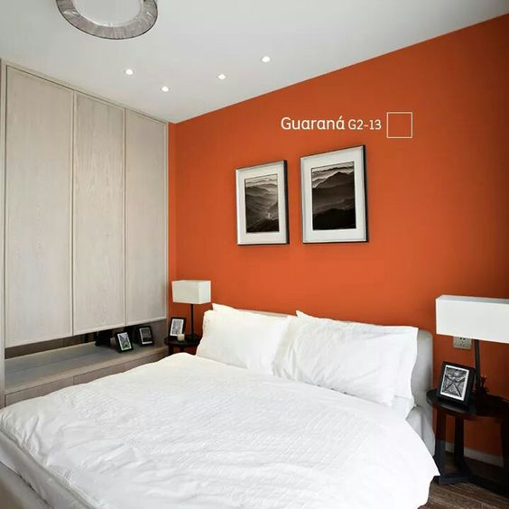 Color guarana comex decoracion recamaras pinterest for Decoracion para pared de recamara