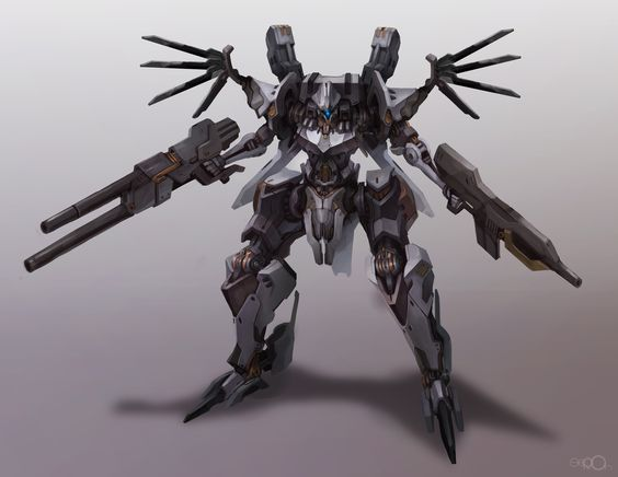 Armored core redesign by zgul-osr1113.deviantart.com on @deviantART