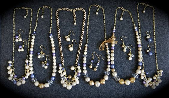 Bridesmaid Jewelry Sets by JustMadeJewelry on Etsy, $20.00