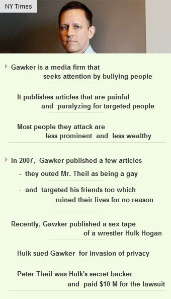 #Gawker is a #media firm that seeks #attention by bullying #people  #vc #startup #gossip http://arzillion.com/S/73yY5q
