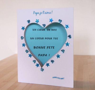 carte pour la fête des pères Bricolage Carte pour la Fête des Pères | Cartes fete des peres