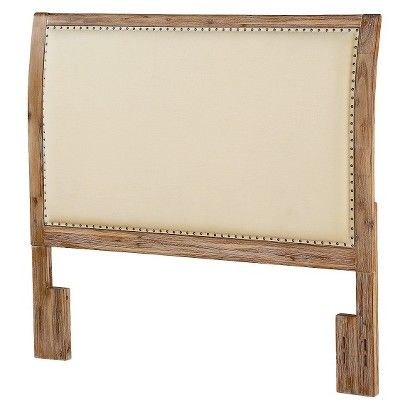 Dorel Sleigh Back Wood Headboard - Full/Queen