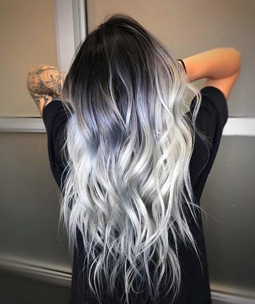 Cuando Llega Los Angeles Primavera Siempre Apetece Renovarse Cambiar Are Generally Decoracion Ymca Tambied Cambiar N In 2020 Hair Styles Grey Hair Color Grey Hair Wig