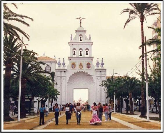 Pórtico De La Feria De La Manzanilla Sanlúcar De Barrameda Cádiz Carreras De Caballos Cádiz España