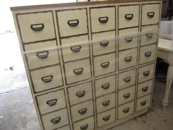 Apothecary Style Chest