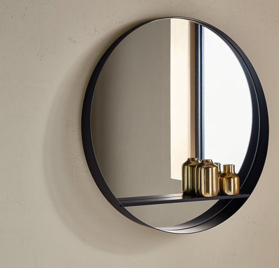 Top 10 Mirrors With Shelves Colourful Beautiful Things Mirror With Shelf Round Mirror Bathroom Circle Mirror
