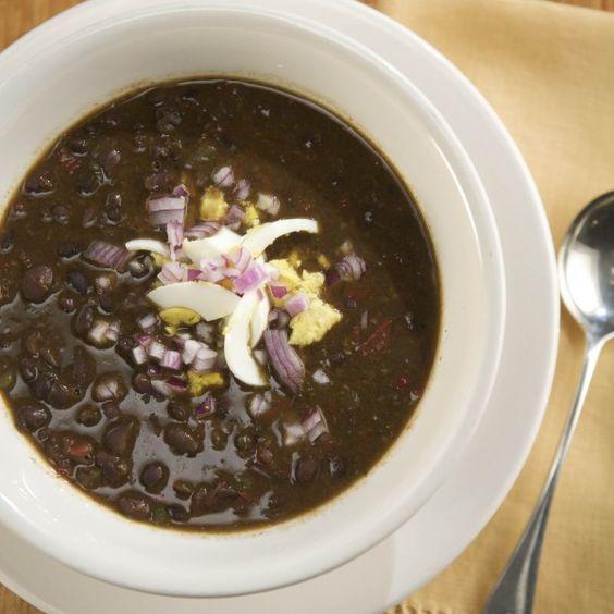 Cuban Black Bean Soup   Recipe   Black bean soup, Beans and Tags
