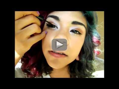 Make-Up Tutorial |Party Look - thank you guys . i love all you guyss and my leg was asleep lol Instagram : stonecoldbabee Twitter :