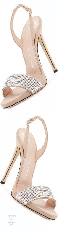 Giuseppe Zanotti Coline Crystal 110mm Sandal | LOLO❤︎