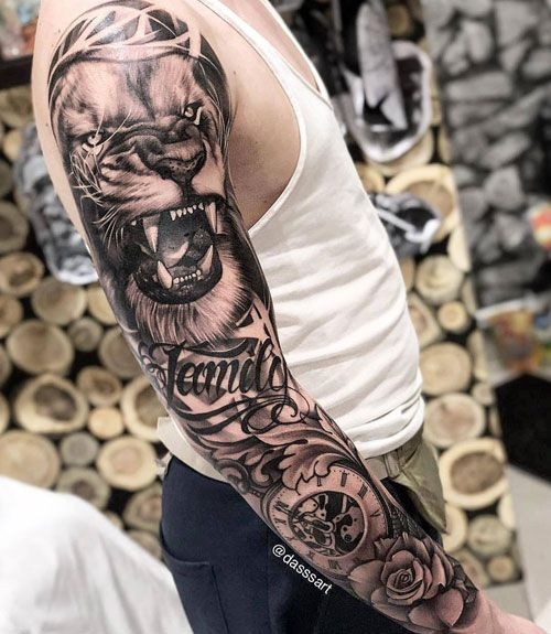 125 Best Sleeve Tattoos For Men Sleeve Tattoos Half Sleeve