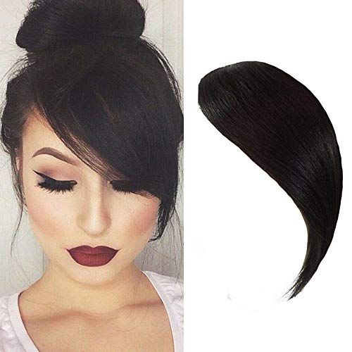 Curtain Bangs Hair Clip In 2020 Hairstyles With Bangs Real Human Hair Fringe Hairstyles