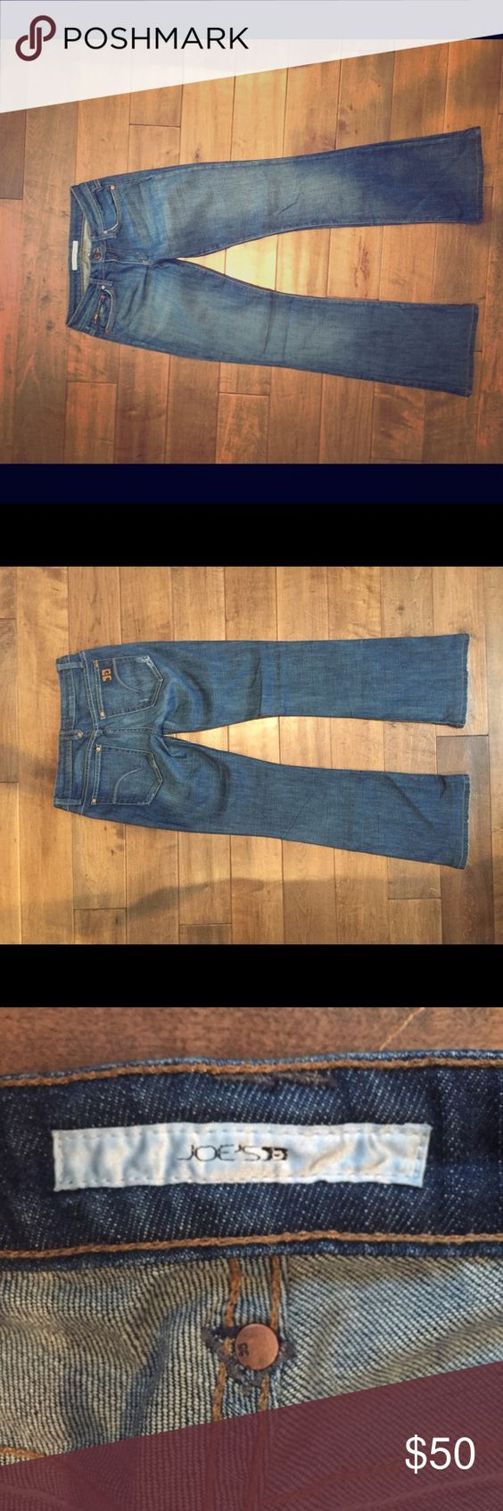 """Joe's jeans These are an old pair of jeans that have been worn numerous times but are still in good condition. I'm about 5'2"""" and the jeans touch the floor on me. The listing price online for the Honey boot it is 129.50. I do not remember what  price I bought them for. Let me know if you have any questions! Joe's Jeans Jeans Boot Cut"""