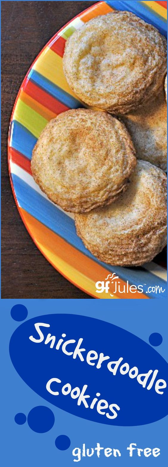 Gluten Free Snickerdoodles just like grandma used to make, only gluten ...