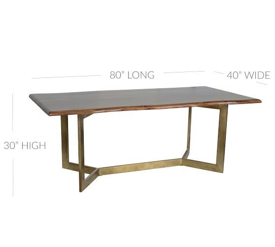 Avondale Dining Table With Images Dining Table Reclaimed Wood