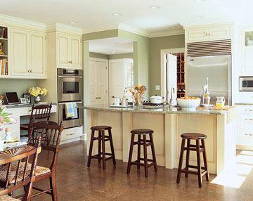 Green Kitchen Design: