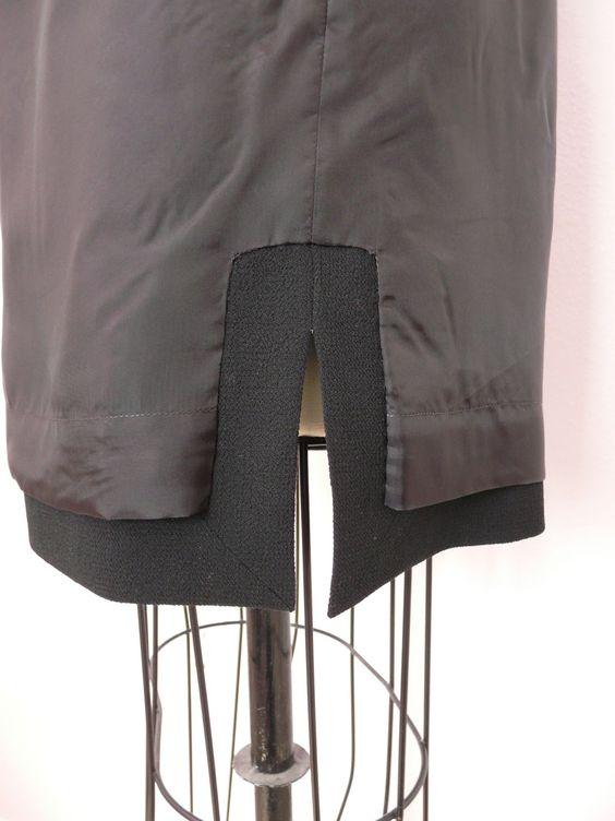 Amanda's Adventures in Sewing: Cynthia Rowley dress in copper brocade & black wool