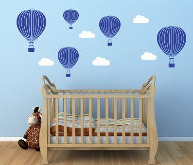 VÄGGDEKOR luftballonger | Barnrum | Pinterest