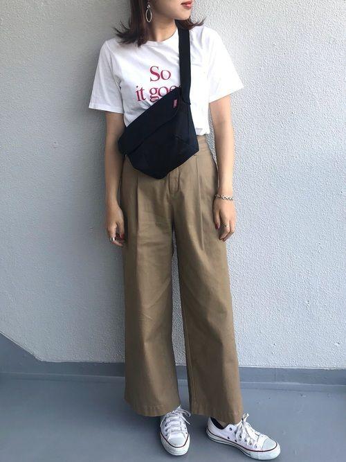 悠喜 Ciaopanic Typyのサロペット オーバーオールを使ったコーディネート Wear オーバーオール サロペット オーバーオール ファッションコーデ