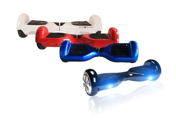 Self Balancing Electric Scooter Hoverboard with LED Light - Hollywood #AmazingScooters