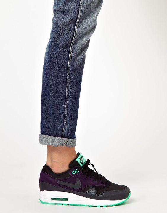 Nike Air Max 1 Womens Julep White Grey Shoes