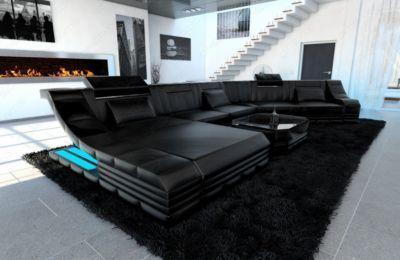 Sofa Dreams Leder Wohnlandschaft TURINO CL Mit LED Jetzt Bestellen Unter:  Https://moebel.ladendirekt.de/wohnzimmer/sofas/wohnlandschaften/?uidu003d5d2e4f6d 7b93  ...