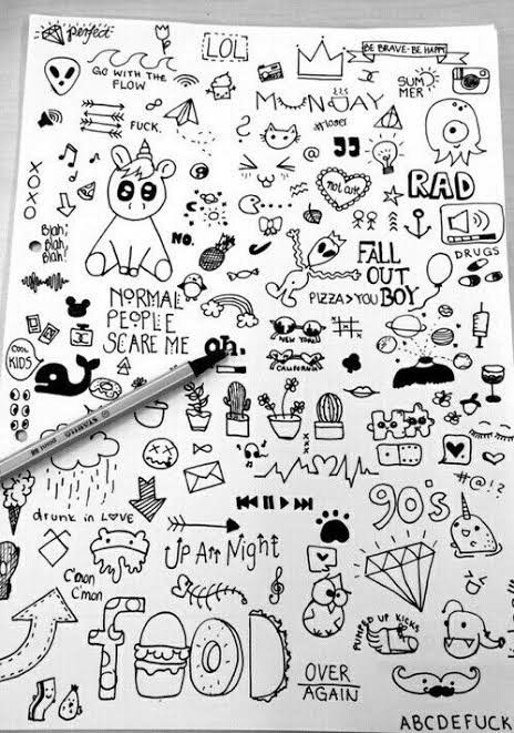 Pin By Sharmala Vadival On Journal Ideas Doodle Drawings