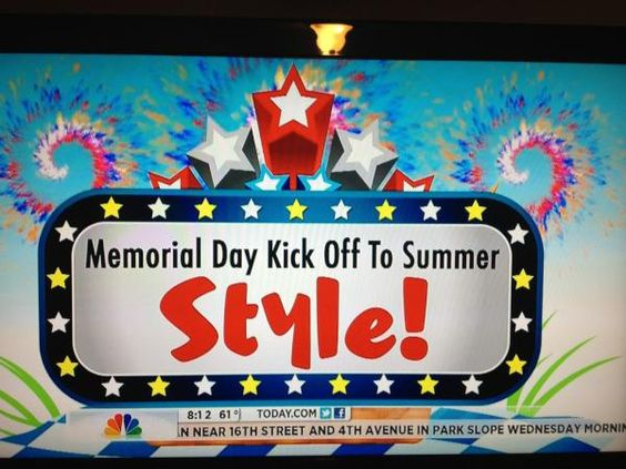 today show memorial day getaways