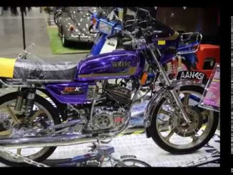 Yamaha Rx 135 Rx K Showcased In Malaysia Agro Exposition Park