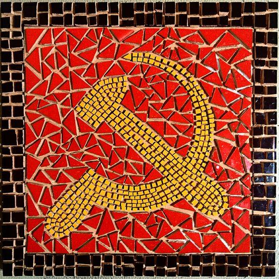 #Mosaico #mosaic listo para el fragüe