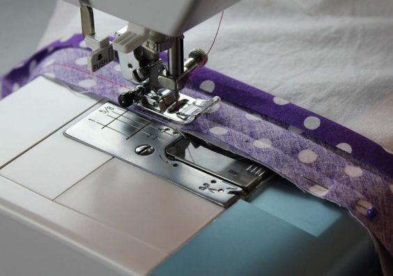 Free sewing pattern: Bias Binding Tutorial