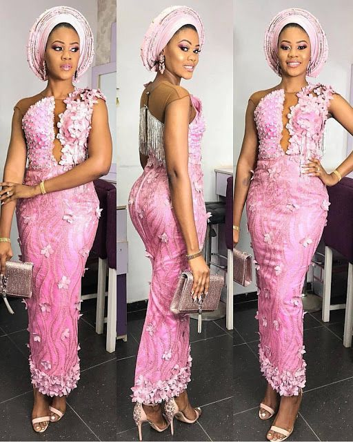 New 10 Aso Ebi Styles For Wedding Guest Fashionist Now Aso Ebi Lace Styles Lace Fashion Aso Ebi Styles