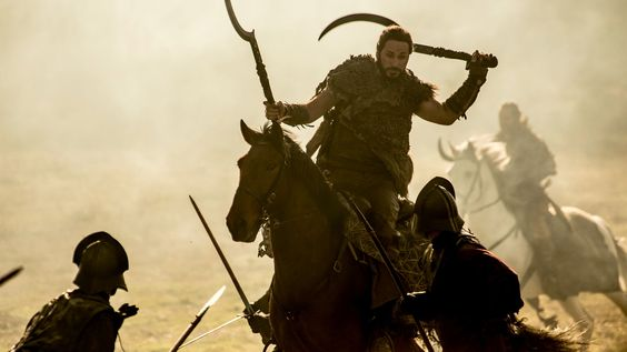 Dothraki in battle The Spoils of War