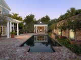 Courtyard - traditional - pool - miami - by Nelson de Leon/Locus Architecture Inc.