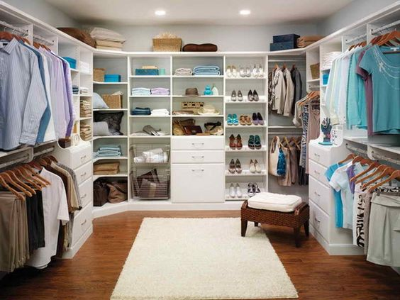 Featured Design Stunning Martha Stewart Closet With Corner