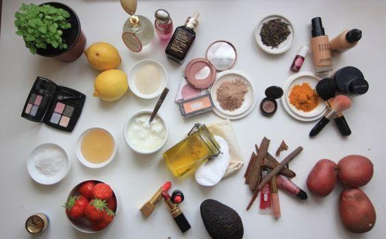 Faça você mesmo: Maquiagem à base de produtos naturais