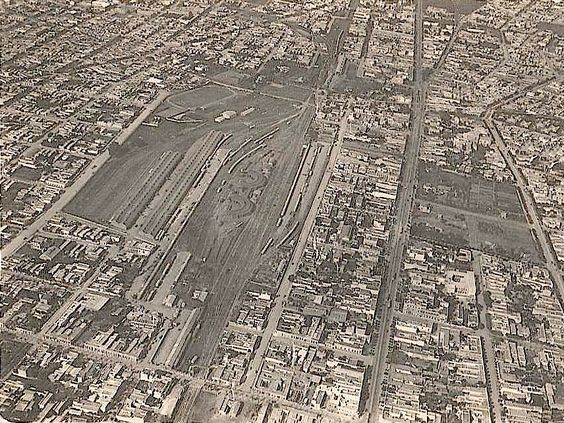 1925 aerial view of stadium. Tank's @viejosestadios