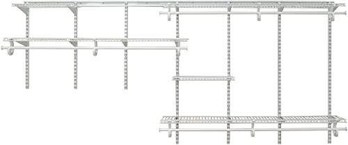 New Closetmaid 2091 Shelftrack 7ft To 10ft Adjustable Closet