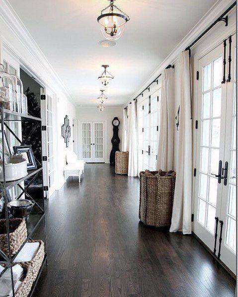Top 60 Best Hallway Lighting Ideas Interior Light Fixtures Living Room Wood Floor Dark Wood Floors Living Room Wood Floor Stain Colors