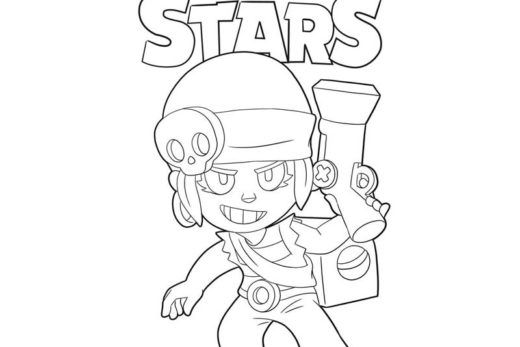 Penny In 2020 Star Coloring Pages Coloring Pages Star Wallpaper