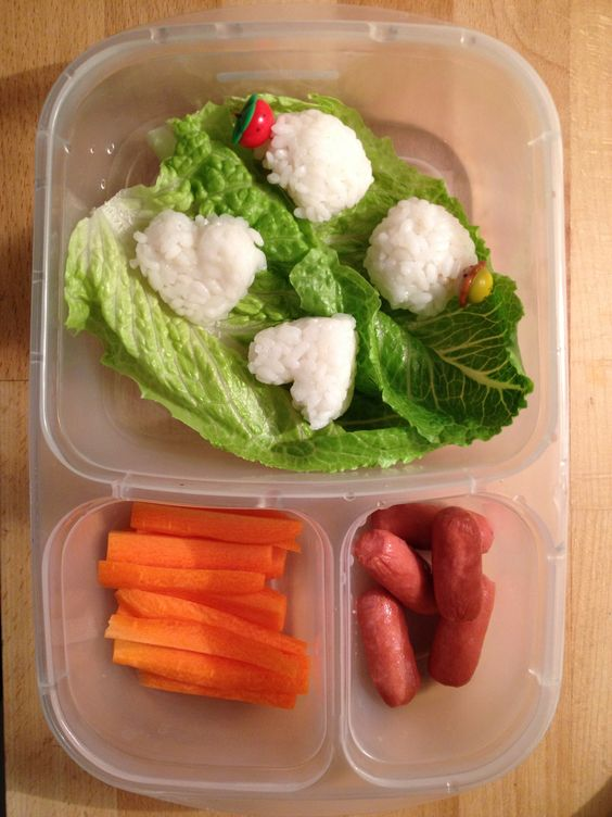 ... of my idea :-) | Lunchable | Pinterest | Sushi, Ice Cubes and Cubes